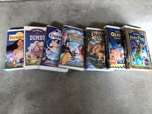 Disney vhs 20 for all for Sale in Sanger, CA