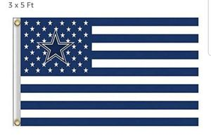 new cowboys flag 3x5 for Sale in Sanger, CA