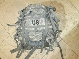 Military gear and large Molle rucksack backpack for Sale in Phoenix, AZ
