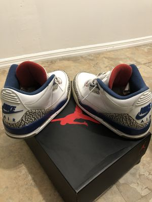 Jordan 3 Retro OG True Blue 2016 for Sale in The Bronx, NY