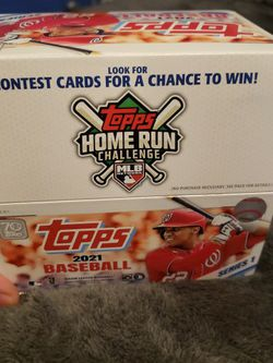 2021 Topps Baseball Box for Sale in Downey,  CA