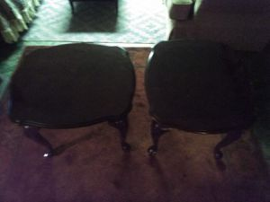 Mahogany antique end tables. for Sale in Monessen, PA