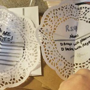 Five Unique Invites & Replies & Envelopes for Sale in Appleton, WI