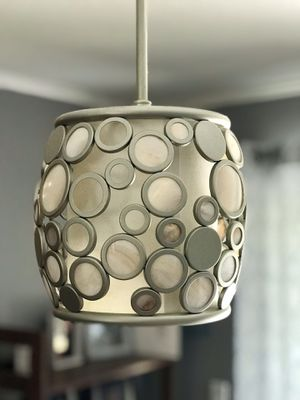 Retro hanging light (silver) for Sale in Seminole, FL