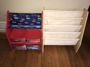 Book shelves and organizer for Sale in Brookfield, IL