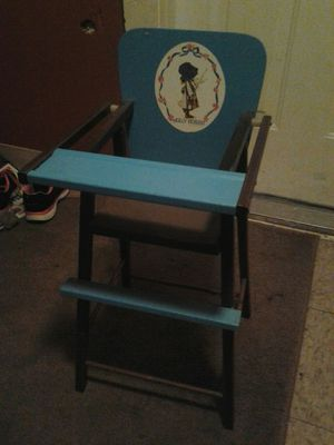 Vintage holly hobbie childs toy highchair for Sale in Cleveland, OH