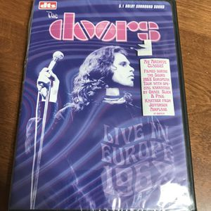 The Doors Live in Europe 1968 DVD for Sale in Middletown, CT