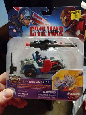 Captain America civil war mini figure and 4 wheeler for Sale in Bronx, NY