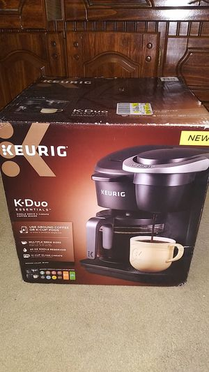 New KEURIG K·Duo Single Serve and Carafe Coffee Maker for Sale in Plano, TX