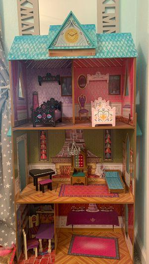Frozen doll house for Sale in Roseville, CA