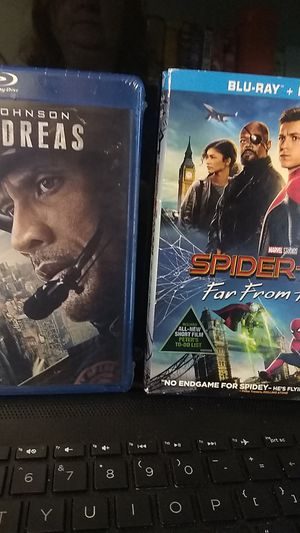 Brand new blu-ray Spider-Man and San Andreas for Sale in Everett, WA