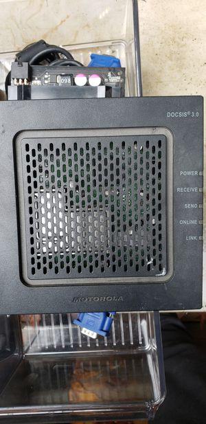 Motorola surfboard modem for Sale in Bellingham, WA