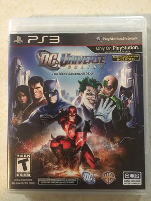 PS3 DC Universe Online for Sale in Bothell, WA