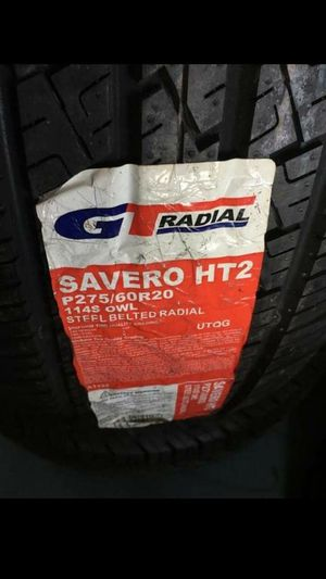 BRAND NEW SET OF TIRES 275 60 20 for Sale in Phoenix, AZ