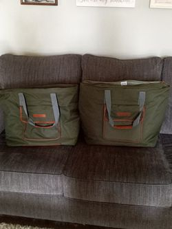 Tote Bags, Set Of 2, Insulated for Sale in Woodlake,  CA