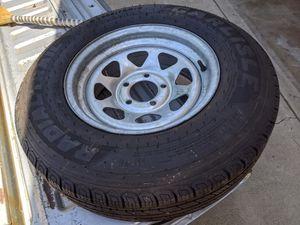 Boat trailer tire galvanized rim for Sale in Poway, CA