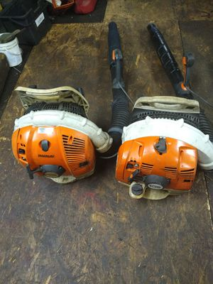 Stihl blowers br 600....br 530 for Sale in Fort Worth, TX