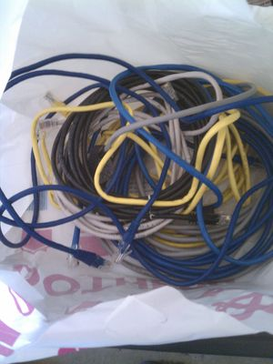 LAN Cables $8 for Sale in Ontario, CA
