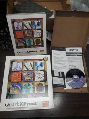 Quark X Press v 4.0 pack for Sale in Los Angeles, CA