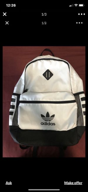 Back pack adidas nueva for Sale in Stockton, CA