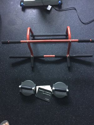 Pull up & Push up Exercise Equipment for Sale in Woodside, CA