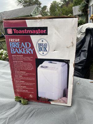 Toastmaster bread maker for Sale in Edison, NJ