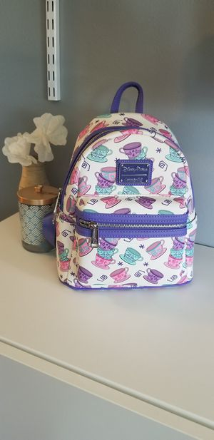 NEW Alice in wonderland Loungefly backpack disney for Sale in FL, US