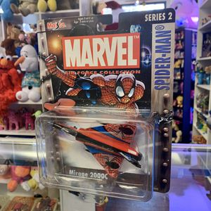 2003 Collectable Maisto Marvel Air Force Collection Series 2 Spider-Man Mirage 2000C Die-Cast Plane Toy for Sale in Elizabethtown, PA