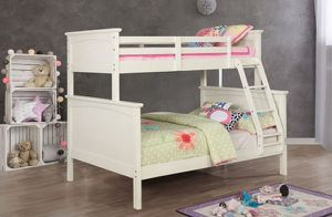 Brand New White Twin over Full Bunk Bed for Sale in El Monte, CA