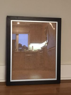 Picture Frame Wooden with Metal Trim. for Sale in San Diego, CA