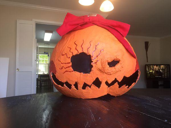 Pumpkin Head (wearable)