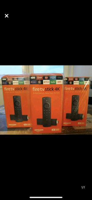 Best Fire TV Stick 4K ( with extras) for Sale in Rochester, NY