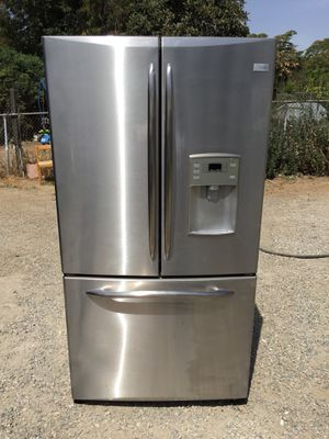 Stainless Steel General Electric 3 Door Refrigerator For Sale for Sale in Rancho Cucamonga, CA