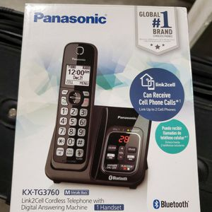 Panasonic Digital Answer Machine Phone With Link To Cell Feature for Sale in Lake Stevens, WA