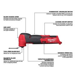 Milwaukee M12 FUEL Cut Out Sander Multi Tool ( Tool Only ) for Sale in Vancouver,  WA