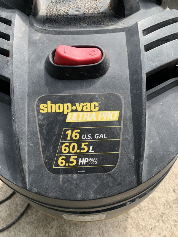 2. Shop Vac 16 gallon
