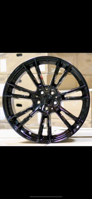 """Bmw 2019 325i 530i 19"""" 5x112 new m style rims tires set for Sale in Hayward, CA"""