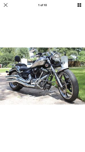 2009 Yamaha Raider Motorcycle low low miles for Sale in Crosby, TX
