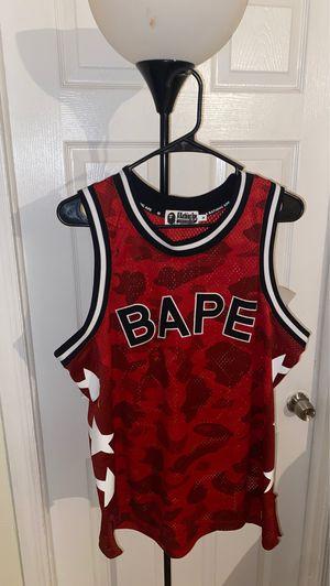 Bape Jersey Size Medium in Men for Sale in Hialeah, FL