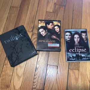 TWILIGHT NEW MOON ECLIPSE DVD LIMITED EDITION LOT OF 3 for Sale in The Bronx, NY