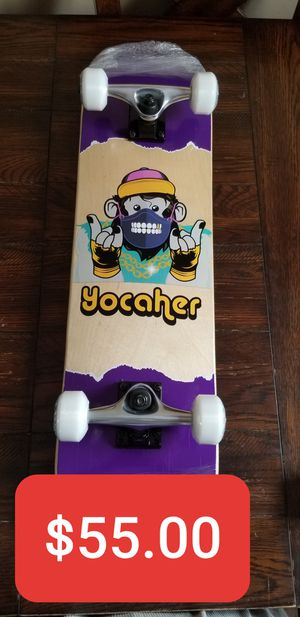 Yocaher Monkey Wood Skateboard 7.75 inch . Patineta de madera 7.75inch Mono for Sale in South Gate, CA