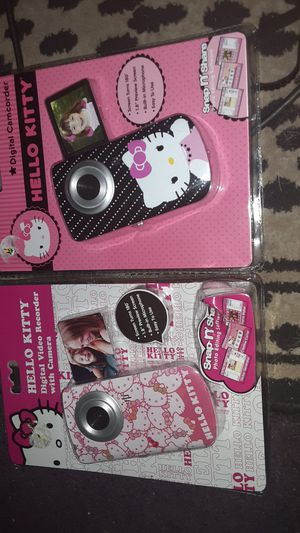 Hello kitty camcorders for Sale in Lakewood, CA