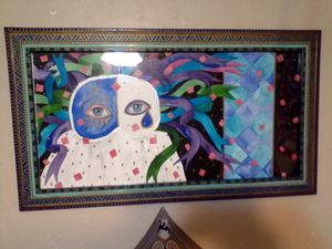 2 Split Life's in the World Painting for Sale in Lawton, OK