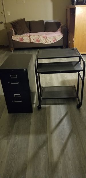 File and computer desk Archivo y p/ computer for Sale in Los Angeles, CA