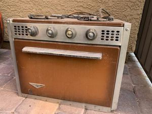 Vintage Camper Trailer Oven for Sale in Las Vegas, NV