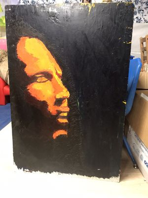 Original Hand Painted Bob Marley Painting - $200 for Sale in San Leandro, CA