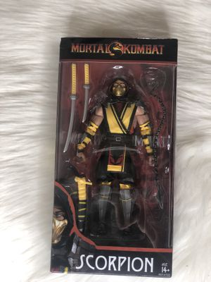 Mortal Kombat ~ 7-INCH SCORPION DELUXE ACTION FIGURE ~ McFarlane Toys for Sale in San Antonio, TX