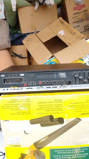 ELECTROPHONIC 8 Track Stereo/Record.PlayDual Music System for Sale in Brighton, CO
