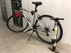 Trek bike w/helmet & pump for Sale in Boston, MA