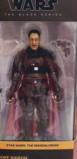 Moff Gideon Mandalorian Star Wars Black Series for Sale in Houston,  TX